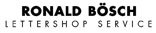 logo lettershop ronald bösch